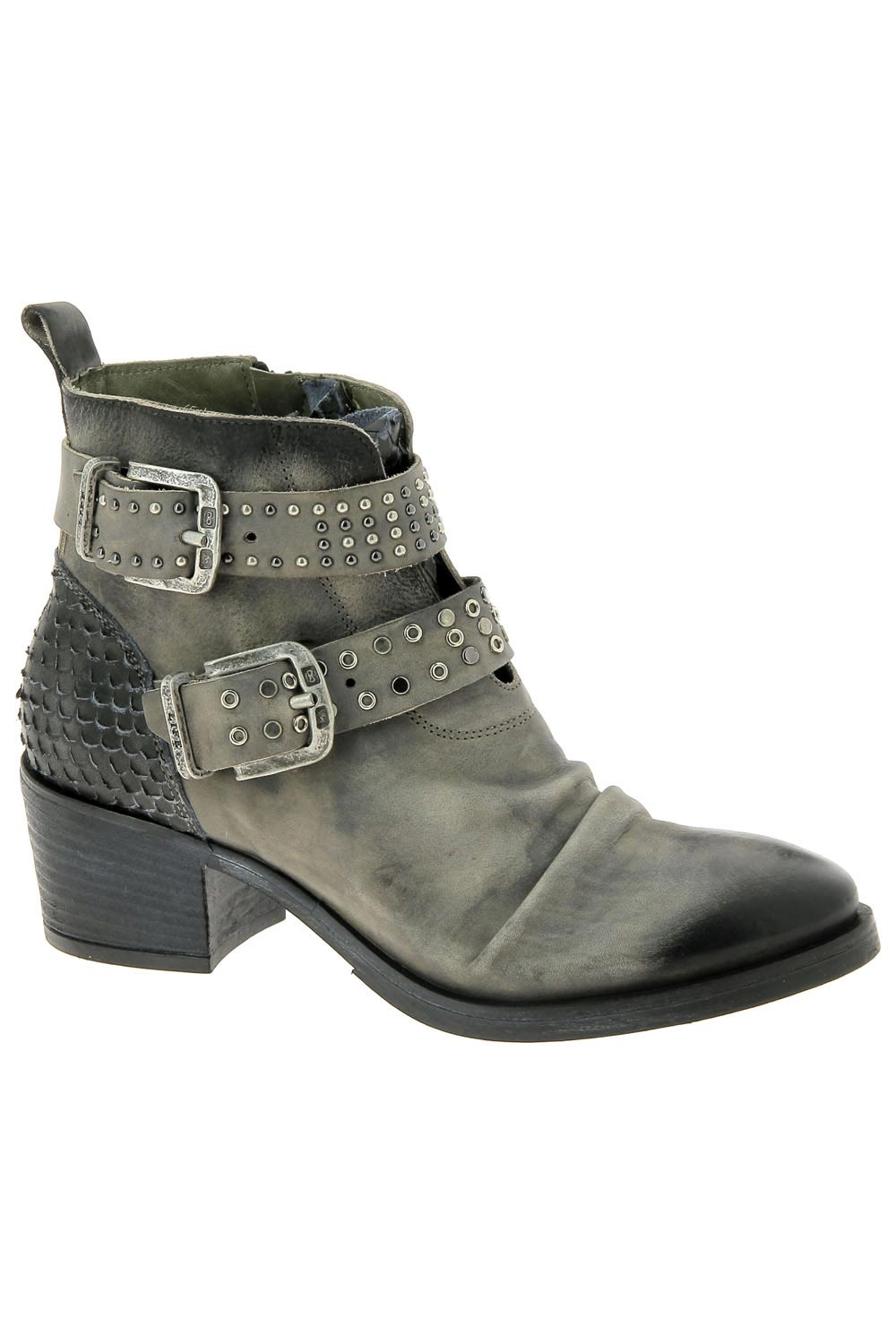 bottines fashion life dak 77 gris
