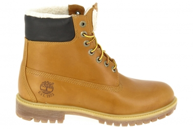 chaussures montantes fourrees timberland jaune 6 inch fur. Black Bedroom Furniture Sets. Home Design Ideas