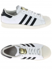 baskets mode adidas superstar 80s blanc