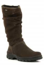 bottes fourrees ara 49215-65 marron