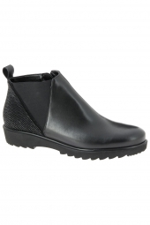 bottines fashion ara 41560-01 g noir
