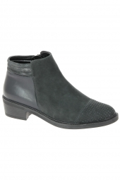 bottines fashion ara 48021-65 g noir