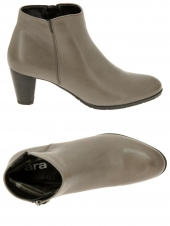 chaussures montantes fourrees ara 43472-66 g taupe