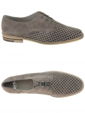 chaussures plates ara 31202-06 f taupe