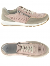 chaussures plates ara 34556-06 h rose