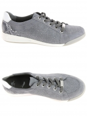 chaussures plates ara 44458-10 g gris