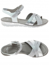 nu-pieds style casual ara 33530-08 h argent