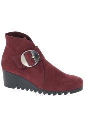 bottines casual arche larrie rouge