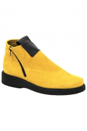 bottines fashion arche joesko jaune