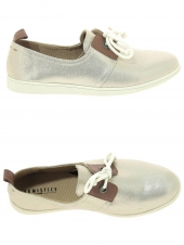 chaussures en toile armistice stone one w or/bronze