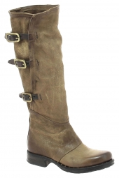 bottes fashion as98 256301 marron
