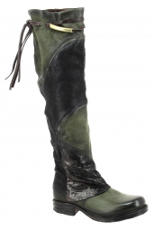 bottes fashion as98 259301 vert