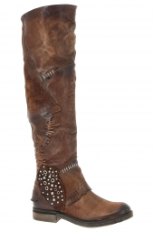 bottes fashion as98 818321 101 marron