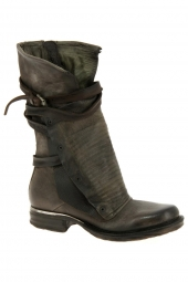 bottes mi-mollets as98 717338-8080 marron