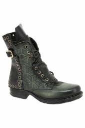 bottines fashion as98 259204 vert