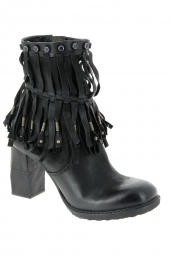 bottines fashion as98 724207 noir