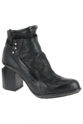 bottines fashion as98 727203-201 noir