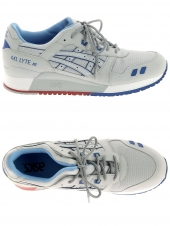 baskets mode asics gel-lyte iii gris