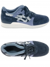baskets mode asics gel-lyte iii bleu