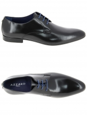 derbies azzaro parme noir