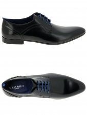 derbies azzaro pioro noir