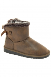 bottes fourrees break & walk hi2 19006 marron