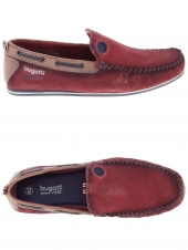 loafers bugatti f0667-31 rouge