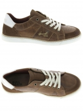 chaussures basses bullboxer agm008e5l marron
