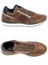 chaussures casual bullboxer 630-k2-6718a marron