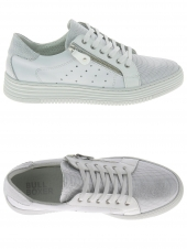 chaussures plates bullboxer 420003e5l-whwh blanc