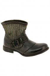 bottines d'ete bunker core-s28 gris
