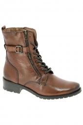 bottines casual caprice 25103-g marron
