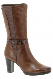 bottines fashion caprice 25350-305 g marron