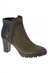 bottines fashion caprice 25403-342 g taupe