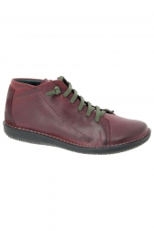 bottines casual chacal 3507 rouge