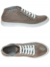chaussures plates chacal 3756 taupe