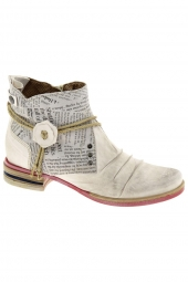 bottines d'ete charme 947 blanc