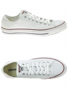 chaussures en toile converse all star ox blanc