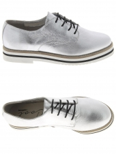 chaussures plates coolway avocado argent