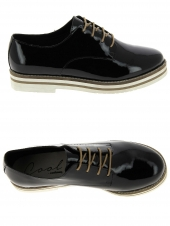 chaussures plates coolway avocado noir