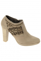 bottines d'ete cypres 345 0913c taupe