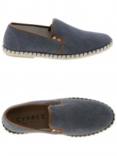 chaussures en toile cypres tabarca 1114 cangrejo gris
