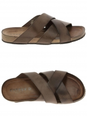 mules casual cypres tbc-161-73772-05 marron