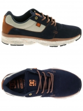 baskets mode dc shoes player se bleu