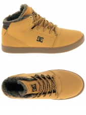 boots fourres dc shoes crisis high wnt jaune