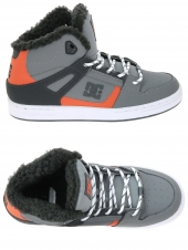 boots fourres dc shoes rebound wnt gris