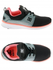 chaussures de skate basses dc shoes heathrow se noir