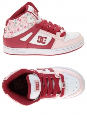 chaussures de skate montantes dc shoes rebound se rose
