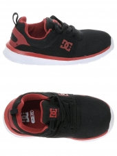 chaussures en toile dc shoes heathrow noir