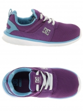 chaussures en toile dc shoes heathrow violet
